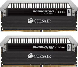 Pamięć Corsair Dominator Platinum, DDR4, 32 GB,2666MHz, CL15 (CMD32GX4M2A2666C15)