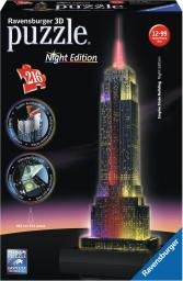 3D Empire State Building nocą 216 - 125661