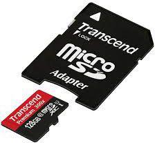 Karta MicroSD Transcend 128GB (TS128GUSDU1)