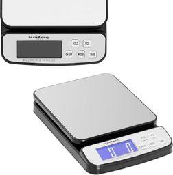 Waga kuchenna Steinberg Waga pocztowa do paczek i listów LCD do 25 kg / 1 g Waga pocztowa do paczek i listów LCD do 25 kg / 1 g