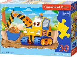 Castorland Puzzle 30 -Żółta Koparka (03464)