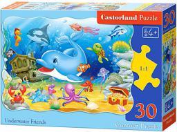 Castorland 30 elementów Delfin i przyjaciele