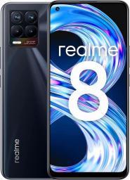 Smartfon realme 8 6/128GB Czarny (Cyber Black)