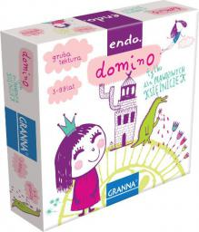 Granna GRANNA Gra Endo Domino dla Księżniczek - 00221