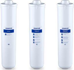 Aquaphor Wkłady do filtra podzlewowego K3 KH K7 - zestaw 3 szt. Wkłady do filtra podzlewowego K3 KH K7 - zestaw 3 szt.