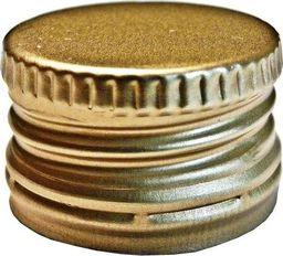 Inter-Deco Zakrętka do butelek monopolowych 28mm (złota)