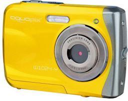Aparat cyfrowy EasyPix Easypix Aquapix W1024 Splash, Żółty (10014)
