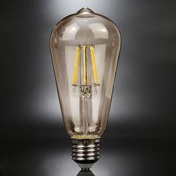 ALTAVOLA DESIGN Przezroczysta żarówka E27 edison ciepła 6W Altavola BF19-LED_clear