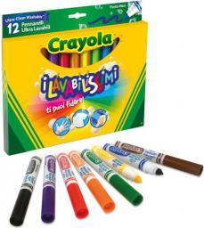 Crayola CRAYOLA Flamastry super spieralne 12szt - 58-8329