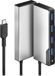 HUB USB Alogic 4x USB-A 3.0 (UCFUUA-SGR)