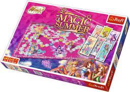 Trefl Gra planszowa Winx Magic summer (01278)