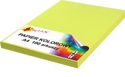 Shan Papier ksero A4 120g żółty 100 arkuszy