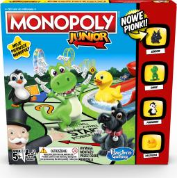 Hasbro Gra Monopoly Junior NEW (A6984)