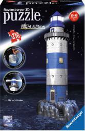 Latarnia nocą 3D 216 el. (125777)