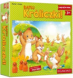 Egmont Gra Ratuj króliczki - (6716)