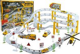LEANToys Tor Samochodowy Rail Racing Metalowe Autka 12km/h