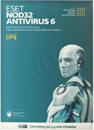ESET NOD32 AntiVirus 1 stanowisko 1 rok Kontynuacja BOX (ENA-K-1Y-1D)