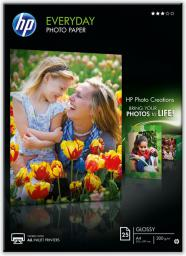 HP papier Everyday Semi-glossy Photo A4 (Q5451A) 25 ark