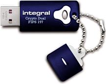 Pendrive Integral Crypto Dual 32GB (INFD32GCRYDL3.0197)
