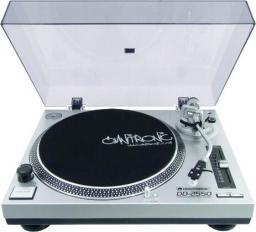 Gramofon Omnitronic DD-2550 srebrny (10603061)