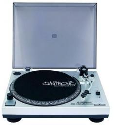 Gramofon Omnitronic BD-1380 srebrny (10603043)