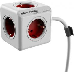PowerCube Przedłużacz Extended 3m czerwony Typ F (1307/DEEXPC)