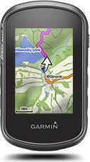 Nawigacja GPS Garmin eTrex Touch 35 incl. TopoActive (010-01325-12)