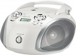 Radioodtwarzacz Grundig RCD 1445 USB pearly white/silver (GDP6391)