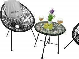 Just Relax Zestaw mebli ogrodowych balkonowych tarasowych ACAPULCO UBBERUP 2+1