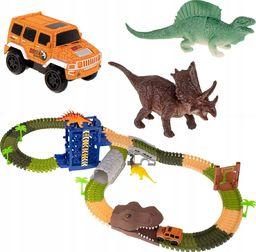 KIK Tor samochodowy Dinozaur + Samochód (KX7471)