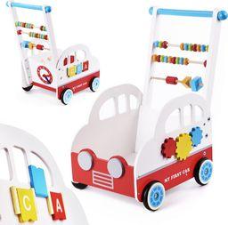 DK Pchacz drewniany wózek liczydło samochodzik