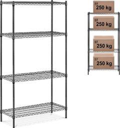 MSW Regał warsztatowy druciany ażurowy do 1 t 1000 kg 90x45x180 cm Regał warsztatowy druciany ażurowy do 1 t 1000 kg 90x45x180 cm