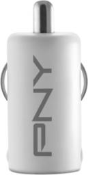 Ładowarka PNY Technologies 1x USB Biała (P-P-DC-UF-W01-RB)