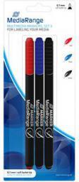 MediaRange Markery do płyt 3 kolory (MR701)