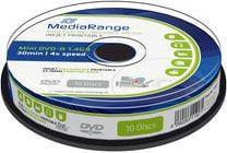 MediaRange Mini DVD-R 1.4 GB 4x 10 sztuk (MR430)