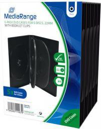 MediaRange Pudełka na 5 płyt CD/DVD 5sz. (BOX35-5)