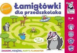 Kapitan Nauka - Łamigłówki dla przedszkolaka