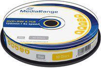 MediaRange DVD+RW 4.7GB 10szt. (MR451)