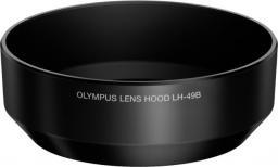 Osłona na obiektyw Olympus LH-49B do M2518, Czarny (V324492BW000)
