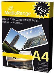 MediaRange Papier fotograficzny A4 (MRINK107)