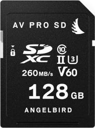 Karta Angelbird AV PRO SD MK2 V60 SDXC 128 GB Class 10 UHS-II/U3 V60 (AVP128SDMK2V60)