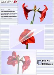Olympia woreczki do laminacji DIN A4 80 micron (9166)