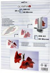 Olympia woreczki do laminacji DIN A3 80 micron (9180)