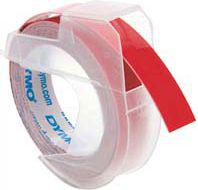Dymo 3D Label Tape 9 mm x 3 m Plastic glossy red (S0898150)