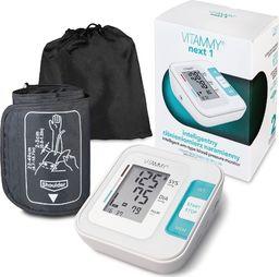 Ciśnieniomierz Vitammy VITAMMY NEXT 1 Ciśnieniomierz naramienny z mankietem 22-40cm, zasilany USB, idealny do domu