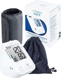 Ciśnieniomierz Vitammy VITAMMY NEXT 3 Ciśnieniomierz naramienny z mankietem 22-40cm z innowacyjnym stojakiem, funkcją głosową i praktycznym zasilaniem przez USB