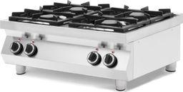 Kuchenka wolnostojąca Hendi Kuchnia gazowa stołowa 4-palnikowa Kitchen Line 2x 6kW 2x 3.5kW Hendi 227381