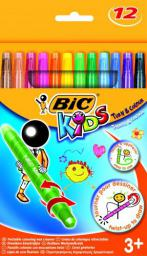 Bic Kredki świecowe  BIC Turn & Colour 12 kol.  880508