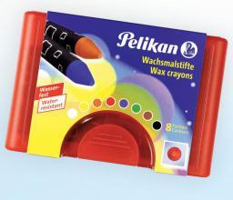 Pelikan Kredki świecowe na bazie wosku pszczelego 665/8D