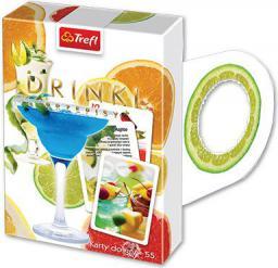 Trefl KARTY DO GRY 55 TREFL OCZKO DRINKI 08375 PUD - 08375